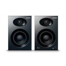 Alesis Elevate 4 |Pair of 50 W Powered Desktop Studio or Gaming Speakers (Black)