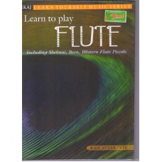 Learn to Play Flute Book.