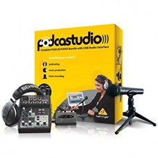 BEHRINGER PODCAST STUDIO USB BUNDLE PACK.