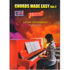 Chords made Easy Vol-2, Keyboard Learning Book.