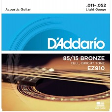 D'Addario EZ910 85/15 Acoustic Guitar Strings.