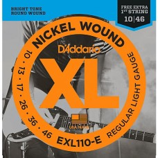 D'Addario EXL110 Electric Guitar Strings, Nickel