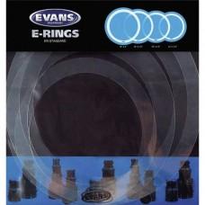 """Evans, E-Ring Standard Pack - 12""""(30.5cm), 13""""(33cm), 14""""(35.6cm) & 16""""(40.6cm) ER-STANDARD"""