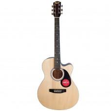 """Fender SA 135C 39"""" Cutaway Acoustic Guitar - Hardwood Fretboard - Natural"""