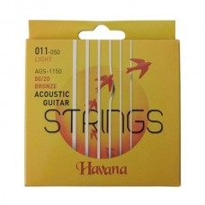 Havana AGS1150 Acoustic Guitar Strings.