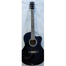 GUITAR HAVANA AAG39 BLACK, FREE SHIPPING.
