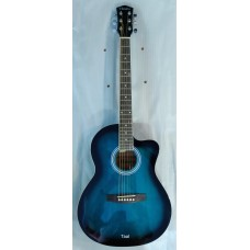 ACOUSTIC GUITAR HAVANA AAG39 BLUE