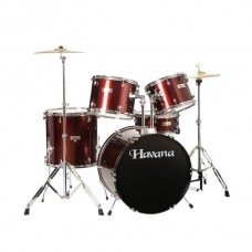 Havana HV-522 5 Pcs Acoustic Drum Kit, Free Shipping