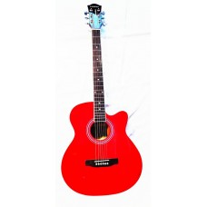 Kadence Frontier 40″ Acoustic Guitar FR01 RED