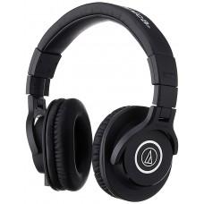 Audio-Technica ATH-M40X Professional Studio Monitor Over-ear Headphones (Black)
