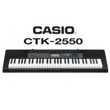 Casio Ctk-2550 Standard Keyboard.