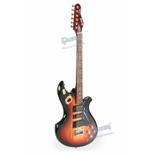 Givson Electric Guitar G.S. 1000 (Fitted With 1 Single Coiled Pick-up & 2 Humbucking Pick-ups)