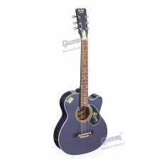 Givson Little Sreej, 6-Strings, Kid's Acoustic Guitar, Right-Handed, Green, With Guitar Cover/Bag