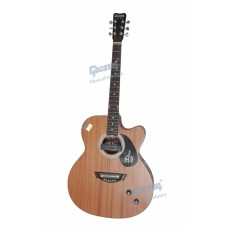 Givson Venus 2018 Cutaway Semi Acoustic Guitar with Pick Up, With Bag & Shipping.
