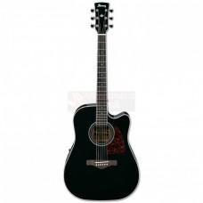 Ibanez Artwood AW70ECE - BK 6 String Semi Acoustic Guitar