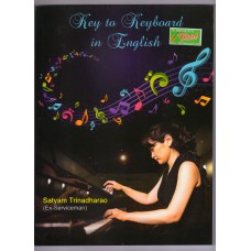 Key to Keyboard Learning Music Book in English