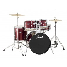 Pearl Roadshow 5Pc Drumset with Stands and Cymbals