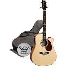 Ashton SPD25CEQ Guitar with FISHMAN Pickup