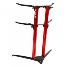 Stay Piano Stand 1200/02 - Black-White-Red-Silver