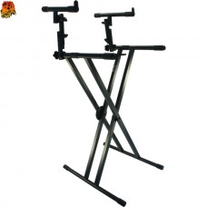 Double Keyboard Stand, XX Model