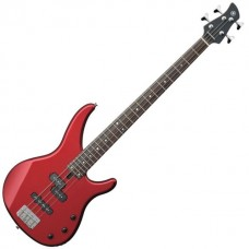 Yamaha TRBX174 TRBX Series Electric Bass Guitar, Metallic Red